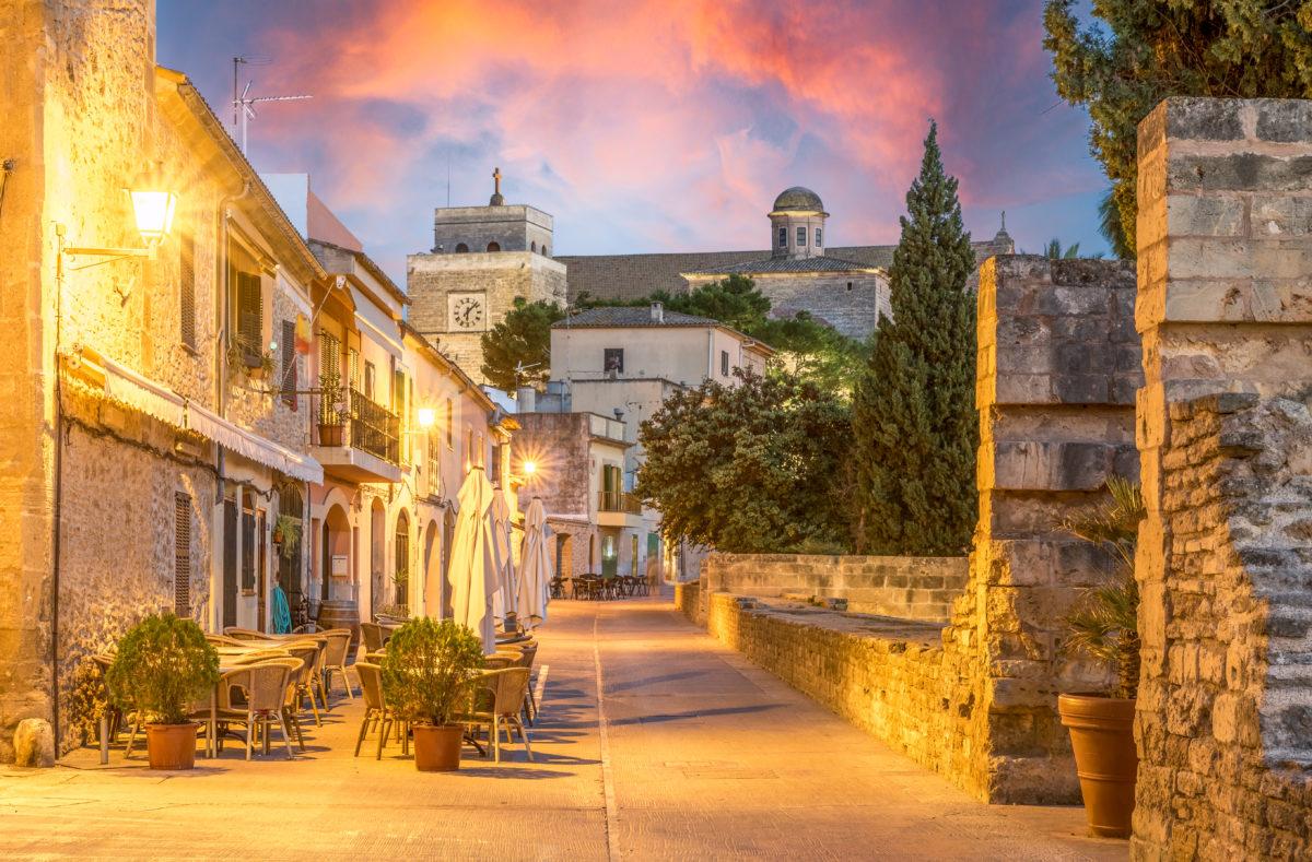 Altstadt von Alcudia Mallorca