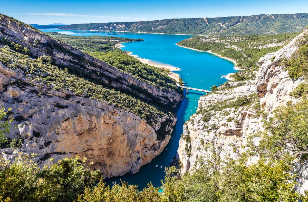 Gorges du Verdon Provence Frankreich